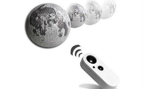 3D LED lampa v podobě Měsíce na dálkové ovládání