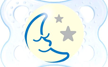 MAM Night uklidňující dudlík 0-6 měsíců kluk