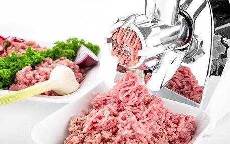 Multifunkční mlýnek na maso se sadou nástavců