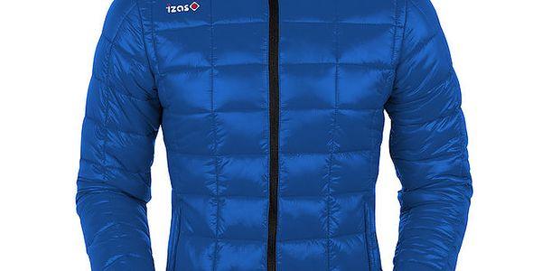 Dámská modrá prošívaná bunda Izas
