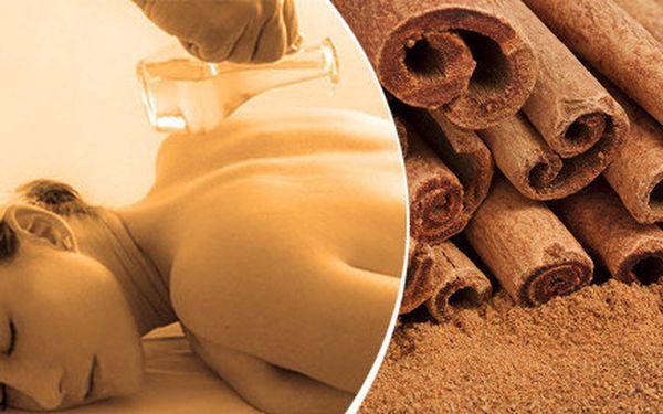 Vánoční aroma masáž zad a šíje - vanilka, skořice, banán, pomeranč