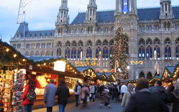 Předvánoční Vídeň - adventní středy, bez stravy na 1 den
