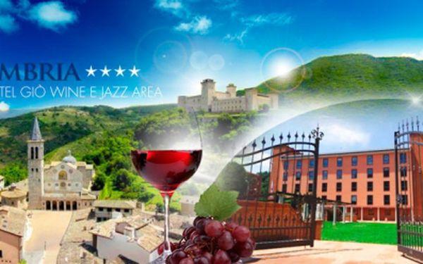 5 dní pro 2 osoby v Itálii v hotelu Hotel Giò Wine e Jazz Area**** včetně SNÍDANÍ! Luxusní dárek pro Vaše blízké!