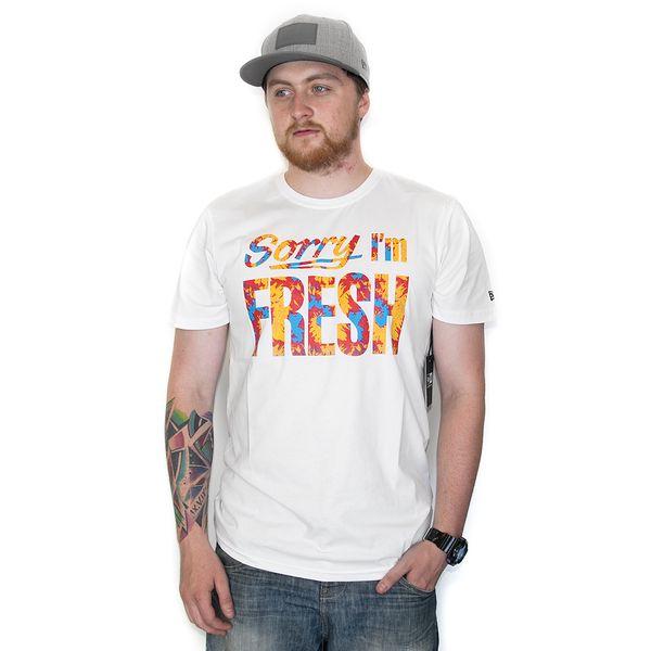 Triko New Era Tie Dye Sorry Im Fresh White bílá / vícebarevné L