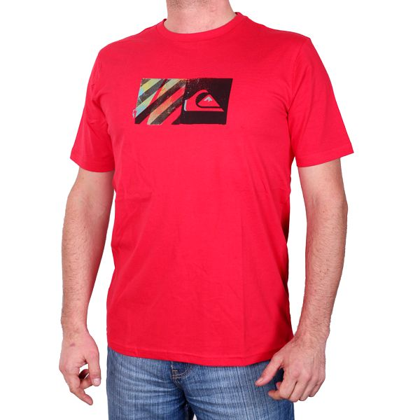Chlapecké triko s krátkým rukávem Baseline SS Tee Youth quik red