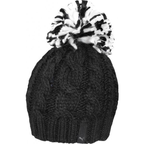 Dámská čepice Puma REID BEANIE černá UNI