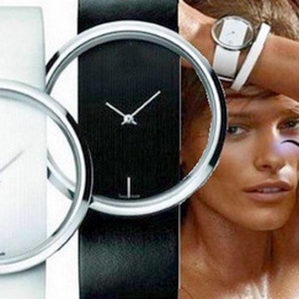Elegantní a zároveň stylové dámské hodinky za 369 Kč a DOPRAVOU ZDARMA! Módní a velmi pěkné hodinky s koženým řemínkem ve dvou barevných provedeních - bílá nebo černá. Obdarujte sebe nebo své blízké skvělým dárkem!