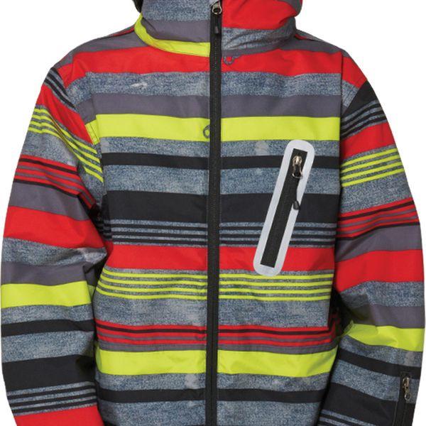 Bunda pro malé snowboardisty Boys authentic stance jacket