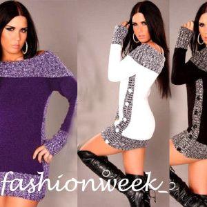 Módní svetr/tunika Melani