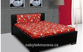 Postel MARCO 200x140cm + lamel. rošt + matrace