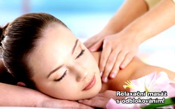 45 min. RELAXAČNÍ MASÁŽE zad a šíje s odblokováním v oblíbeném studiu Janina! Postarejte se o zdraví svého těla a zapomeňte na bolavá záda i ztuhlou šíji! Svěřte se do rukou profesionální masérky a v klidu relaxujte!
