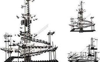 SPACERAIL LEVEL 7 - konstrukční, vesmírná stavebnice!! JEDINEČNÁ NABÍDKA!!
