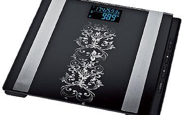 Digitální váha s měřením BMI, tuku, vody