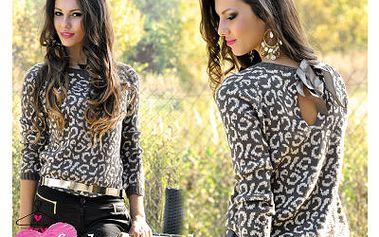 Luxusní svetr panther
