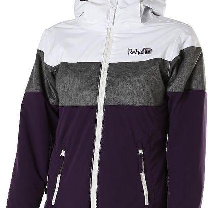 Krásná dívčí zimní bunda Erica Junior purple