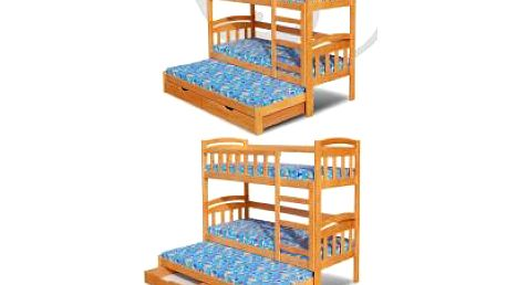 Patrová postel DAMIAN