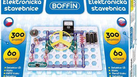 Elektronická stavebnice řady Boffin s návodem na 300 zajímavých elektronických hraček