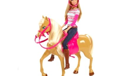 Barbie a klisna Tawny