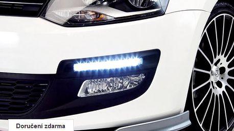 LED diodová světla pro denní svícení auta – doručení zdarma