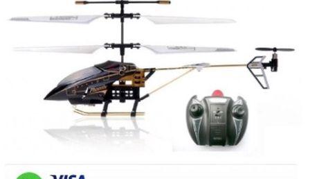 RC vrtulník Phantom 6010 kovový s gyroskopem