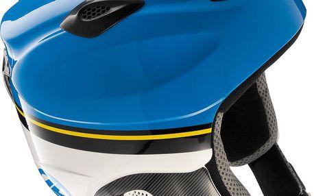 Juniorská helma Lange Race JR Modrá/Bílá 52 2013-2014