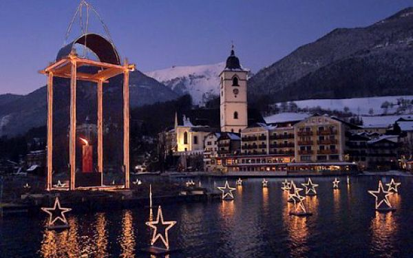 ADVENT NA JEZEŘE WOLFGANGSEE, Rakousko, bez stravy na 1 den