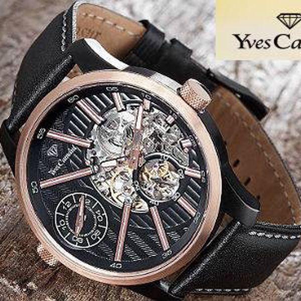 Efektní pánské hodinky Yves Camani Taravo včetně doručení