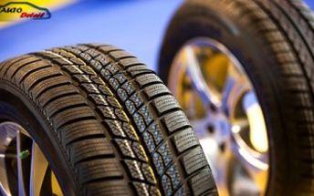 Kompletní zimní přezutí pneumatik včetně vyvážení kol v autoservisu Auto Detail. Jezděte bezpečně!