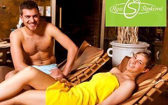 VIP vstup do saunového světa Olgy Šípkové PRO DVA!