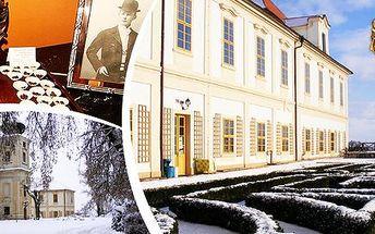 Sladké čokoládové prohlídky na zámku Loučeň