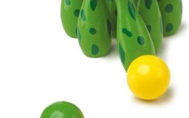 Krásné žabičkové kuželky s míčky
