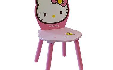 Dětská židlička s motivem Hello Kitty