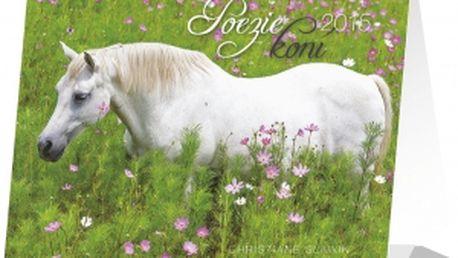 Poezie koní Christiane Slawik Praktik, kalendář 2015, 16,5 x 13 cm