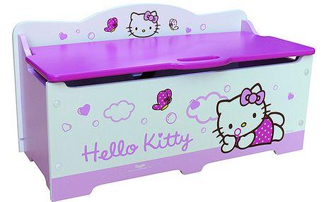 Úložná truhla s motivem Hello Kitty