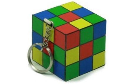 Antistresové retro přívěsky na klíče - Rubikova kostka!
