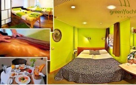 3denní pobyt v kajutě GreenYacht Hotelu**** na Vltavě. Exkluzivní dárek - platnost ROK.