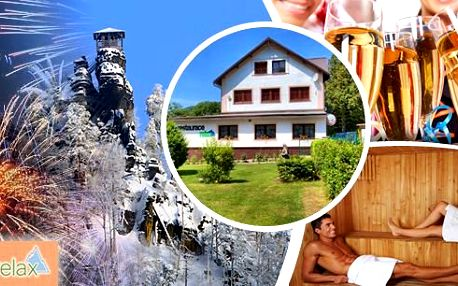 Silvestrovský pobyt pro dvě osoby na 2, 3 nebo 4 dny v penzionu Relax***! V ceně polopenze, silvestrovské menu s nočním bufetem, sauna a další za neuvěřitelnou cenu!