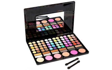 Paletka se 78 barvami - oční stíny a tvářenky a poštovné ZDARMA! - 9999915266