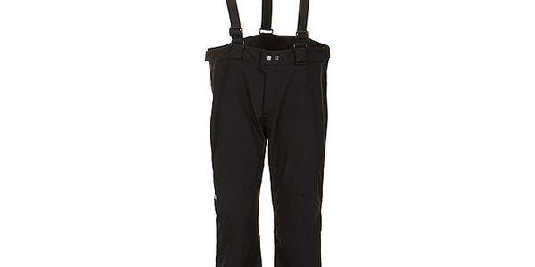 Pánské černé softshellové kalhoty se šlemi E2ko
