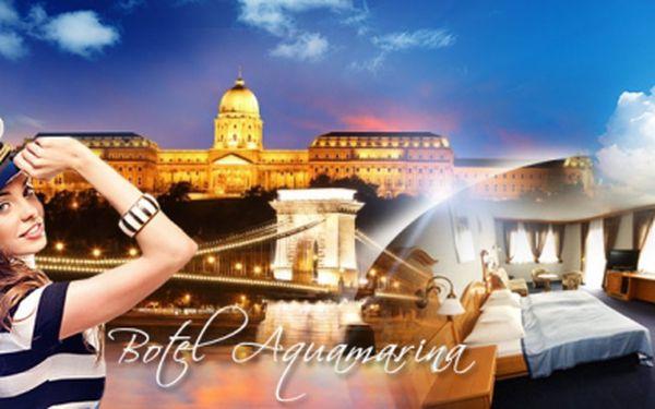 ČTYŘI DNY v Maďarsku v krásném 4* botelu Aquamarina pro 2-3 OSOBY! Poznejte atmosféru Budapešti!
