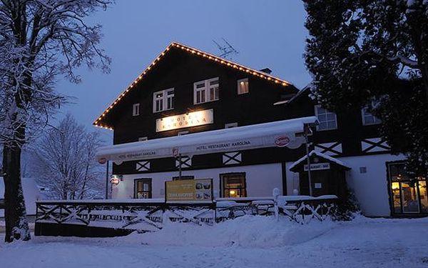 Polopenze i lyžování v Harrachově