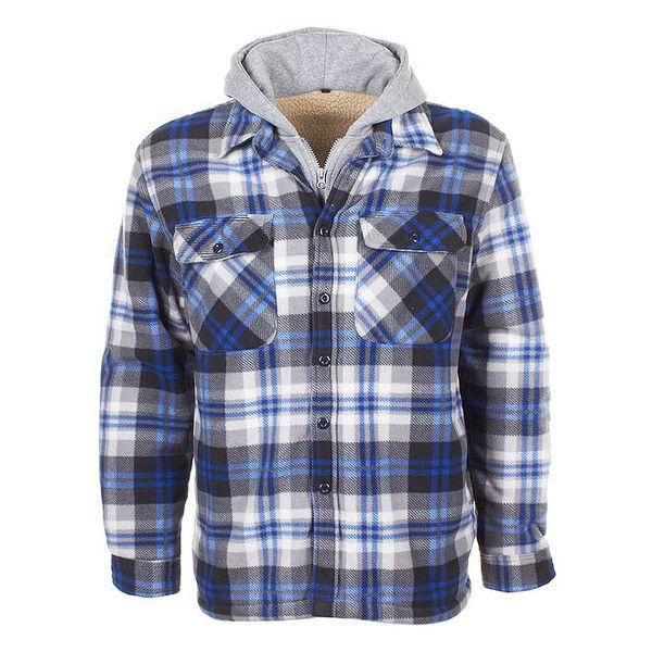 Pánská fleecová košile s kapucí E2ko