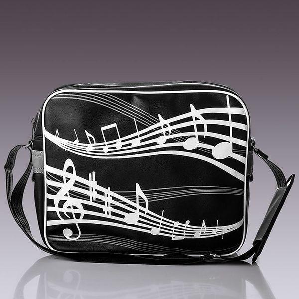 Pánská taška s notami Solier