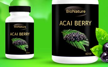 Açai Berry: detoxikuje, pomáhá zhubnout, posiluje srdce! Přírodní extrakt.