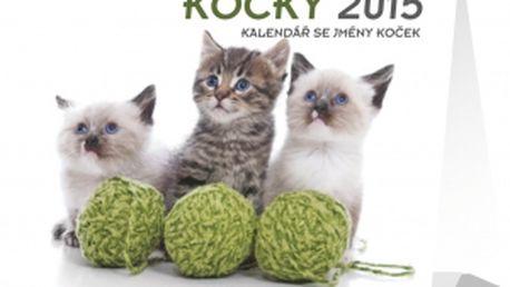 Kalendář se jmény koček 2015, 16,5 x 13 cm