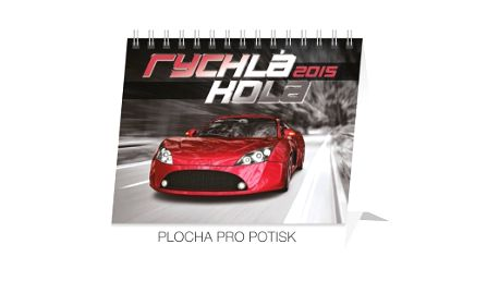 Auta Praktik, kalendář 2015, 16,5 x 13 cm