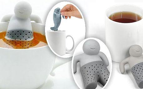 Mr. Tea, Král čaje-originální čajové sítko - vychutnejte si svůj šálek čaje s milým panáčkem či zvířátkem, který Vám poslouží i jako čajové sítko pro sypané čaje.