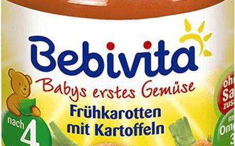 Bebivita Mrkev s bramborami 190g