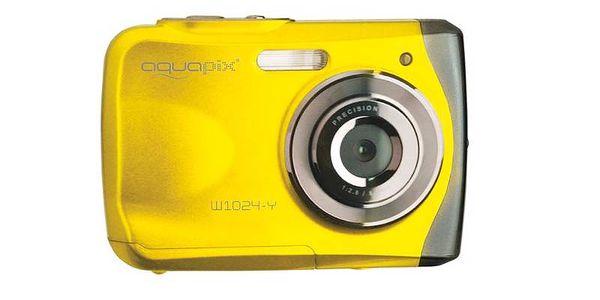 Vodotěsný EasyPix W1024 žlutý
