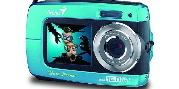 Digitální vodotěsný fotoaparát Genius G-Shot 510, 8MP